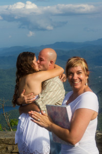 HeartLight Hiking Wedding at Craggy Pinnacle with Rev. Amber Desmond